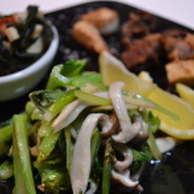 小松菜を美味しく!そのコツはオイル煮☆
