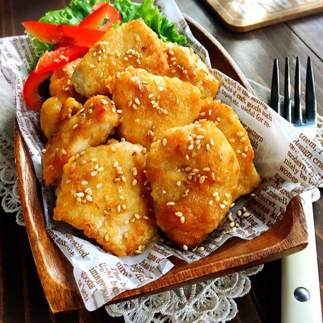 ♡マヨdeコク旨♡鶏むね肉のめんつゆがらめ♡【#簡単#時短#節約#てりやき#マヨネーズ】