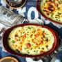 ♡トースターde超簡単♡ベーコンと白菜のクリームグラタン♡【#簡単#時短#節約#トースター#生クリーム不要】