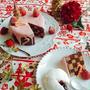 苺のサンセバスチャン/クレームダンジュ/クリスマスケーキ
