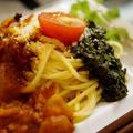 ■続・ケータリングディナー【菜園発・2色のパスタ/季節の酢の物】のご紹介です♪