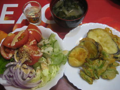 ドロロままの原点☆天ぷらにすれば野菜もメインに☆味噌娘のホットケーキ