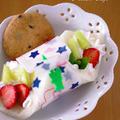 サンドシナイッチ(いちごとメロンでデザート風)☆サンドしないサンドイッチ by めろんぱんママさん