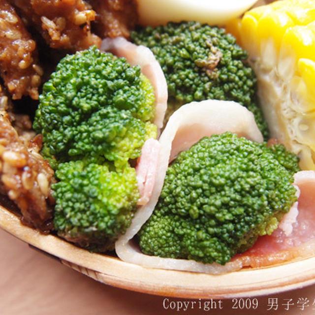 【お弁当のおかず】ブロッコリーの梅ベーコン巻き 隙間埋めにピッタリな小さいおかず
