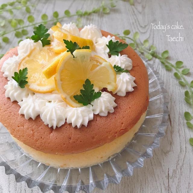 蜂蜜レモンチーズスフレ