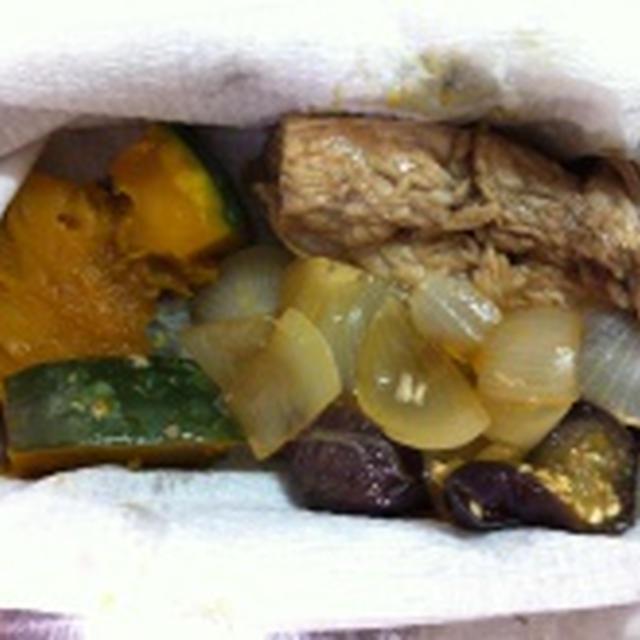 野菜のぶりあら煮&ぶりのほぐしご飯