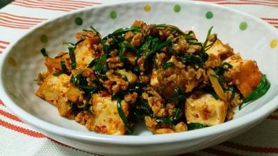 味付けが一発で決まる‼ キムチと豚ひき肉の炒め物