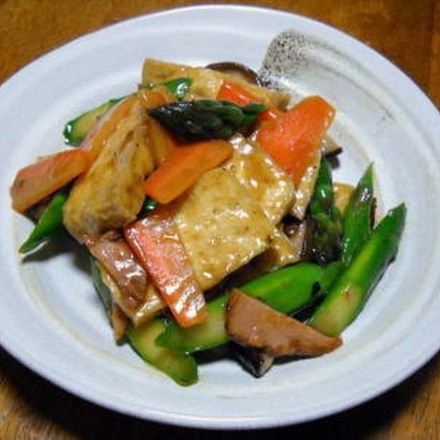 揚げ豆腐のうま煮