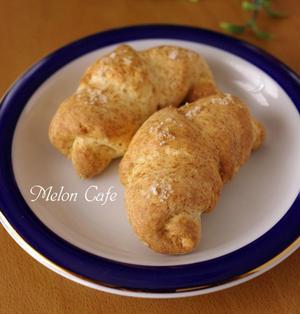 ホットケーキミックスと豆腐で、簡単シンプルな塩パン☆ハード系バターなしタイプ