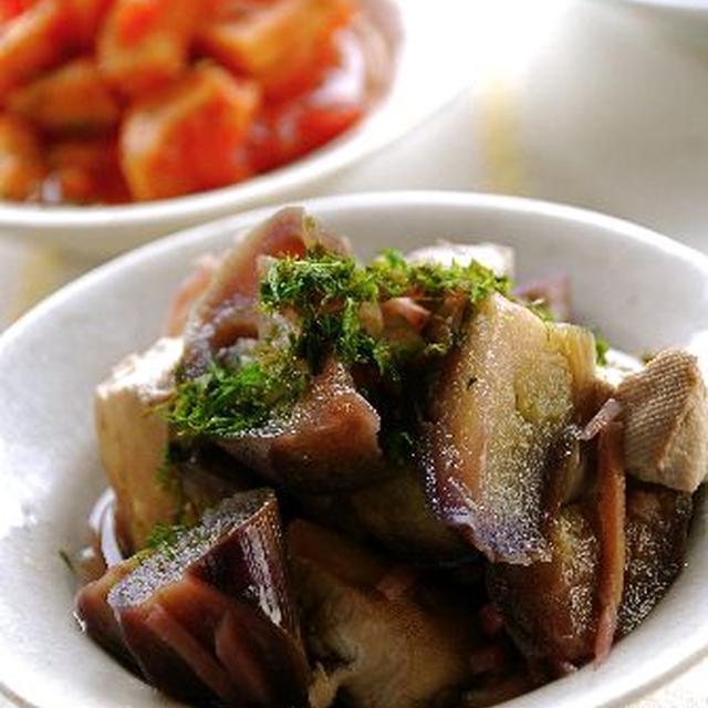 茄子と豆腐のお好み煮込み