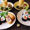 予約投稿になります☆寿司2種類♪~♪ by みなづきさん