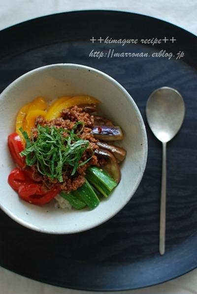 夏野菜deカラフルビビンバ♪