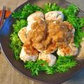 体力完全回復。大量作成なら餡かけ梅ポン酢鶏団子(糖質5.7g) by ねこやましゅんさん