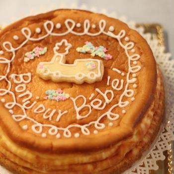 お祝いチーズケーキと秋のおでかけ。