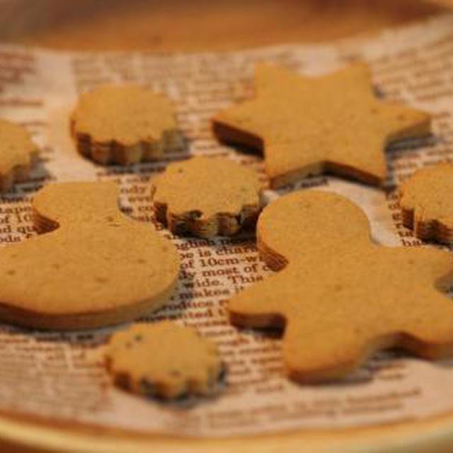 ■小麦不使用*タピオカ粉の豆乳きな粉クッキー■