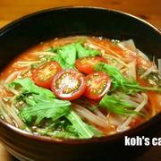 減塩・低たんぱく 【塩麹トマト麺】