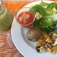 ビタミンCたっぷり美肌スムージー朝朝食とサボリーノ朝専用マスクでよい目覚め♪