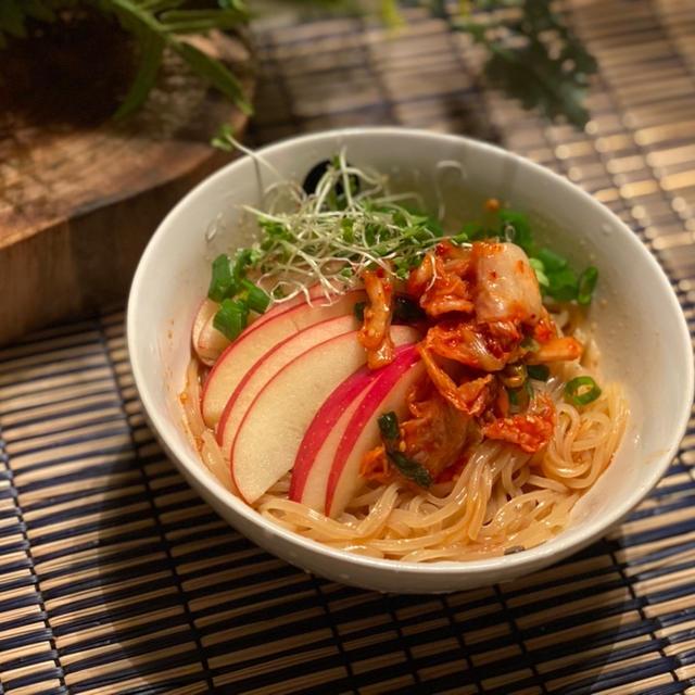 即席ビビン麺!【私がよく夜食にたべる辛いやつ。】