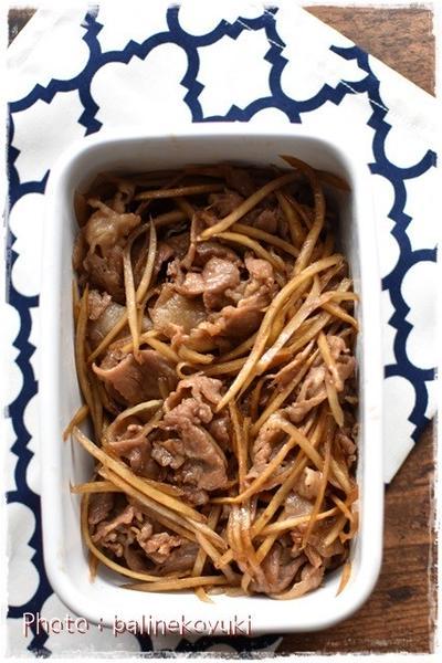 ご飯が進む時雨煮豚肉バージョン|作りおきおかず|お弁当のおかず|豚肉のしぐれ煮