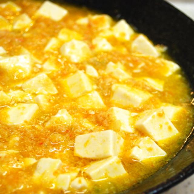 『プチ贅沢!?かにと豆腐の煮込み』