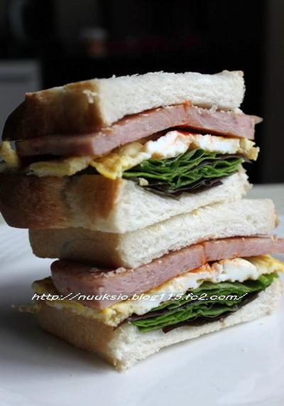 山食とサンドイッチ