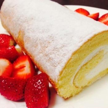 白砂糖&バター不使用!米粉のロールケーキ