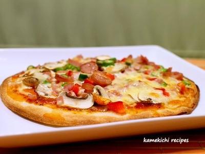 市販のピザ台で混ぜ混ぜミックスピザ」&「ルクエで茄子とタラのバジルソース」&コメントのお返事です