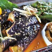 ■簡単!!節約!!【胡瓜のキューちゃん の出汁活用で 揚げ野菜のサッと煮】