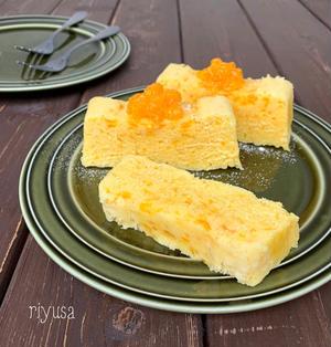 【レンジで簡単おやつ】材料4つでふわふわフルーツケーキ
