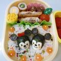 4月20日 うずら卵でミキミニ弁当 by カオリさん