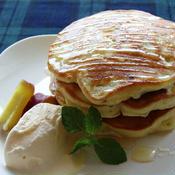 カルダモン香る♪秋のさつまいもパンケーキ