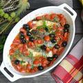 Mediterranean Baked Cod 地中海風鱈のオーブン焼き