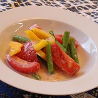 スパイスアンバサダー*彩り野菜のコリアンダー*ヨーグルトソース
