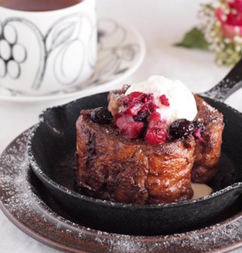 甘いもの好き必見!チョコレートフレンチトーストを作ってみよう♪