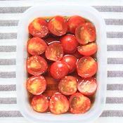 ミニトマトの和風柚子マリネ