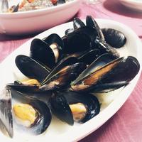 ムール貝の白ワイン蒸し~GABANイタパセを使って