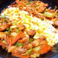 チーズタッカルビのレシピ!フライパンで簡単&人気のヒット料理!【韓国】(レシピ付き)