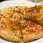 【レシピ】カニカマとじゃがいものチーズガレット