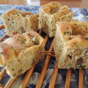 甘納豆黒ごまパン