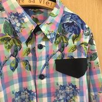 東京洋裁教室 リバティで作る男の子のシャツ