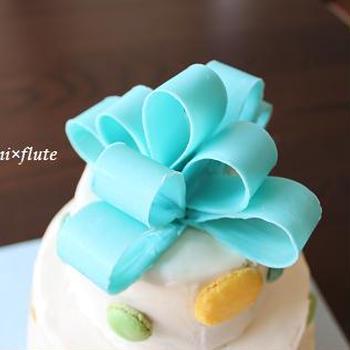 3段!Baby Shower Cake!