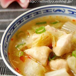 冬にぴったりなほっこり感♪「ささみ×生姜」のおすすめスープレシピ