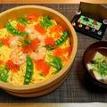 うっかり抜けていたこの日の晩御飯☆ひな祭り散らし寿司♪☆♪☆♪
