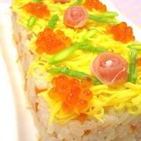 簡単かわいい♪お寿司ケーキレシピ6選