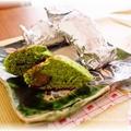 抹茶と栗のホイルケーキ by luneさん