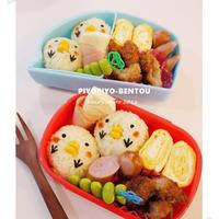 ぴよぴよ弁当と桜