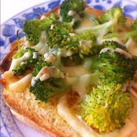 カレー粉が◎ブロリンのピザ風トースト