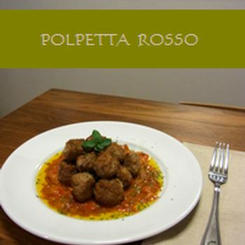 イタリアの肉団子 ポルペッタ・ロッソ