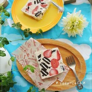 簡単すぎる!牛乳パックで作る「アイスケーキ」レシピ