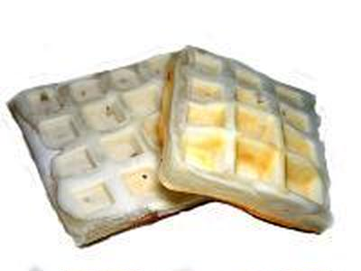 白いモチモチワッフルレシピ。モッフル?でも餅でなし。